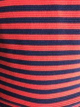 J. Crew Womens -Size 4 -Red/Navy Stripe Scoop Neck S/S Ponte Dress -A0120 image 8