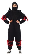 Ninja Kigarumi Funsie Womens Costume Adult Black One-Piece Halloween UA8... - $69.99