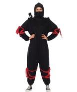 Ninja Kigarumi Funsie Womens Costume Adult Black One-Piece Halloween UA8... - $69.99