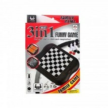 3-in-1 Classic Game Set (Backgammon, Chess & Checkers) - $6.78