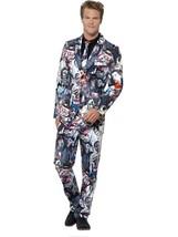 Zombie Suit, Large, Halloween Fancy Dress, Mens - $66.08