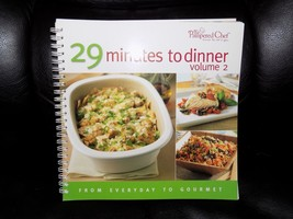 The Pampered Chef  29 Minutes to Dinner Volume 2 Book  - $37.99