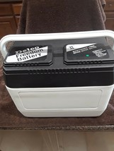 Delco Battery Shaped Drink Picnic Cooler white/black top.  Nice condition! - €42,32 EUR