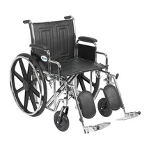 Drive Medical Sentra EC With Desk Arms and Leg Rests 22'' - $368.29