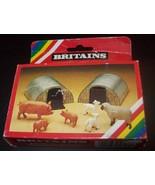 54MM 1/32 METAL BRITAINS FARM ANIMAL SHELTERS - $25.00