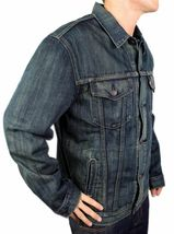 NEW LEVI'S MEN'S PREMIUM CLASSIC COTTON BUTTON UP DENIM JEANS JACKET 705890019 image 4