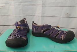 Purple Women's Keen Sandals Bungee Water Shoes Hiking Walking Size 5 Wat... - $13.09