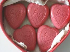 Vintage Avon Soap Soaps HEART OF HEARTS BASKET & 5 HEART 1988 NIB Box Wear - $13.99