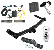 """Trailer Tow Hitch For 14-19 Dodge Durango Deluxe Package Wiring & 2"""" Bal... - $249.55"""
