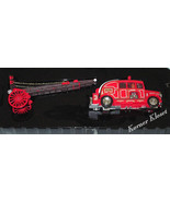 Matchbox 1936 Leyland Cub FK-7 Fire Engine & Escape Ladder-Fire Engine S... - $27.04