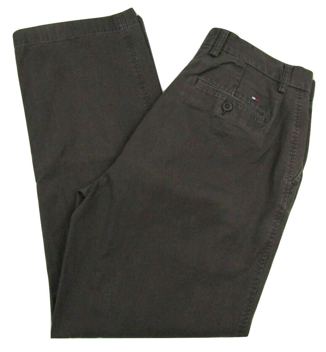 SIZE 33 X 30 100/% cotton ~ NWT GRAY PIN MEN/'S DOCKERS SIGNATURE KHAKI PANTS