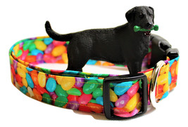 """Easter dog collars, Spring  dog collars, 1 inch wide , 3/4"""" inch wide, o... - $13.00"""