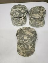 3 Army Patrol Cap Digital Camo 7 3/8 Cadet Hat Cap (rc5) - $18.69