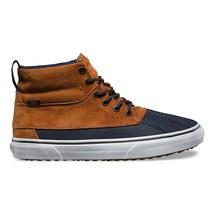 Vans Sk8 Hi Del Pato (MTE) Ginger Navy Skate Shoes Mens Size 8 - $105.65 CAD