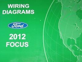2012 FORD FOCUS Electrical Wiring Diagram Troubleshooting Manual EWD OEM  - $58.41