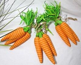 Pier 1 9 Pc 3 Trio Carrot Bundles Easter Spring Basket Table Decor Farmh... - €15,00 EUR