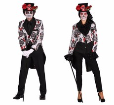 Halloween 2017 - Sugar Skull TAILCOAT Jacket  , Gents - $51.82+