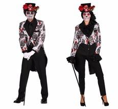 Halloween 2017 - Sugar Skull TAILCOAT Jacket  , Gents - $51.82+