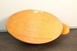 """Vintage Carved Wood Duck Decoy 13"""" Long Original Unsigned Wooden image 6"""