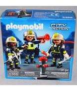 NIB Playmobil City Action 5366 (Fire Rescue Crew Set) - $12.50