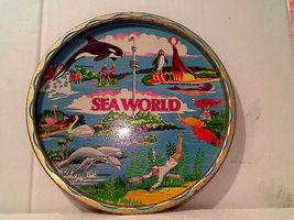 Vintage Colorful 1976 Sea World Souvenir Servin... - $8.00