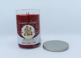 Yankee Candle 22 oz LE Original Santa's Candy Castle Glass Large Jar Candle - $41.99