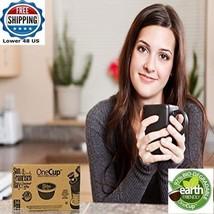 Single Cup Coffee 80pc DECAF FRENCH ROAST San Francisco NEW Biodegradabl... - $53.81