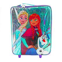Frozen Travel Luggage Kid's Suitcase Carry on for Vacation Leasure Sleep... - $40.00