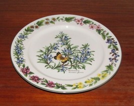 "Royal Worcester ""Herbs""  10.25"" Dinner Plate ~ Rosemary and Butterfly - $39.60"