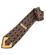 "NEW TODAY'S MAN SILK TIE Made in Italy Rust Color Designer 60"" - $12.95"