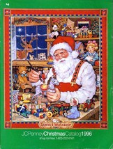 JC PENNEY 1996 GIFT BOOK WISH BOOK '96 CHRISTMAS PENNEYS CATALOG - $25.25