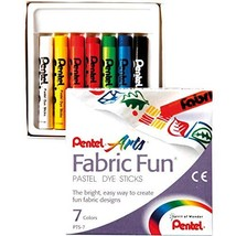 Fabric Fun Pastel Dye Sticks 7/Pkg-Assorted Colors - $8.55