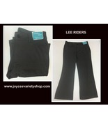 Lee Riders Women's Comfort Waist Gray Pants 16P NWT - $16.99