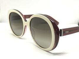 Fendi Sunglasses Ff 0001/S 7PB-HA IVORY/BROWN Authentic 001 - $199.00
