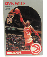 1990 NBA Properties NBA Hoops Atlanta Hawks Kevin Willis Forward/Center - $1.53