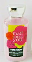 Bath & Body Works Mad About You Lotion Moisturizing Shea & Vit E 8 Oz - $8.90