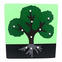 PANDA SUPERSTORE Tree,Children's Toys for 3-6 Years Old Wooden Jigsaw Puzzle Cre