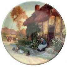 A Moments Peace Quiet Corners of Old England Arthur Claude Strachan Plate - $32.26