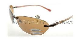 SERENGETI PALMA Satin Bronze Polarized Drivers Sunglasses 7152 - $126.91