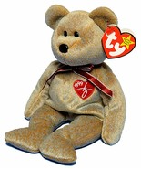Signature Bear 1999 Ty Beanie Baby Collectible Mint Condition with Tags Retired - $6.88