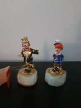 Set of 2 Ron Lee Clowns Vintage 1993 1994 Lil Mate Sailor Chip Off The O... - $69.25