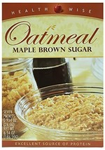 HealthWise Oatmeal Maple Brown Sugar, 7 packets of 0.934 oz., net 6.54 oz. - $18.17
