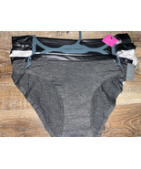 Vince Camuto Women's Bikini Underwear Panties Rayon Blend 3-Pair ~ L - $18.70