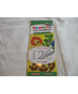 Numbers Wipe Clean Pad English & French Ages 3+  Beaver Books - $2.23