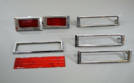 Chevy Camaro Nove Side Marker Light Bezels 1968 1971-79 3962933 3927459 - $57.87