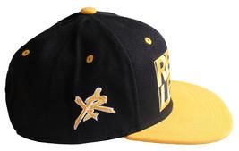 Young & Reckless Y&r La Hombre Negro Amarillo Gorra Béisbol Nuevo con Etiqueta image 2
