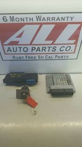 07-10 BMW 328 E90 ENGINE BRAIN COMPUTER W/IGNITION KEY AND BCM MSV80 760... - $169.33
