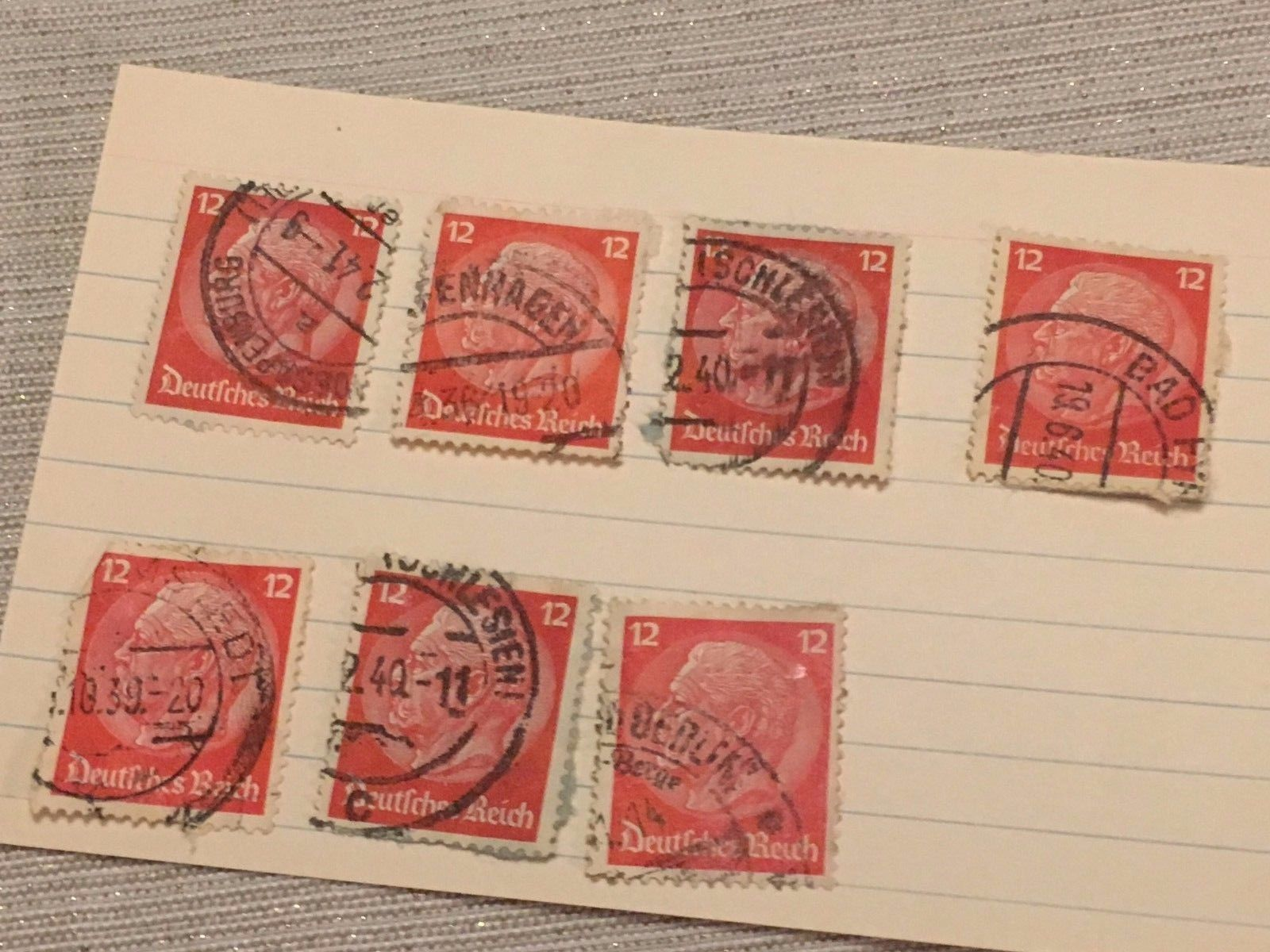 (300+) Pre-1950 World Stamps Collection Lot Germany India China Japan So Africa