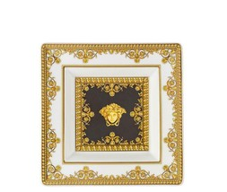 Versace I Love Baroque Dish 14 cm Porcelain  Set of 6 Made in Italy - $1,052.95