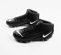 Nike Force Savage Pro Team Football Cleat Men's US 15 Black White AH4000... - $42.08